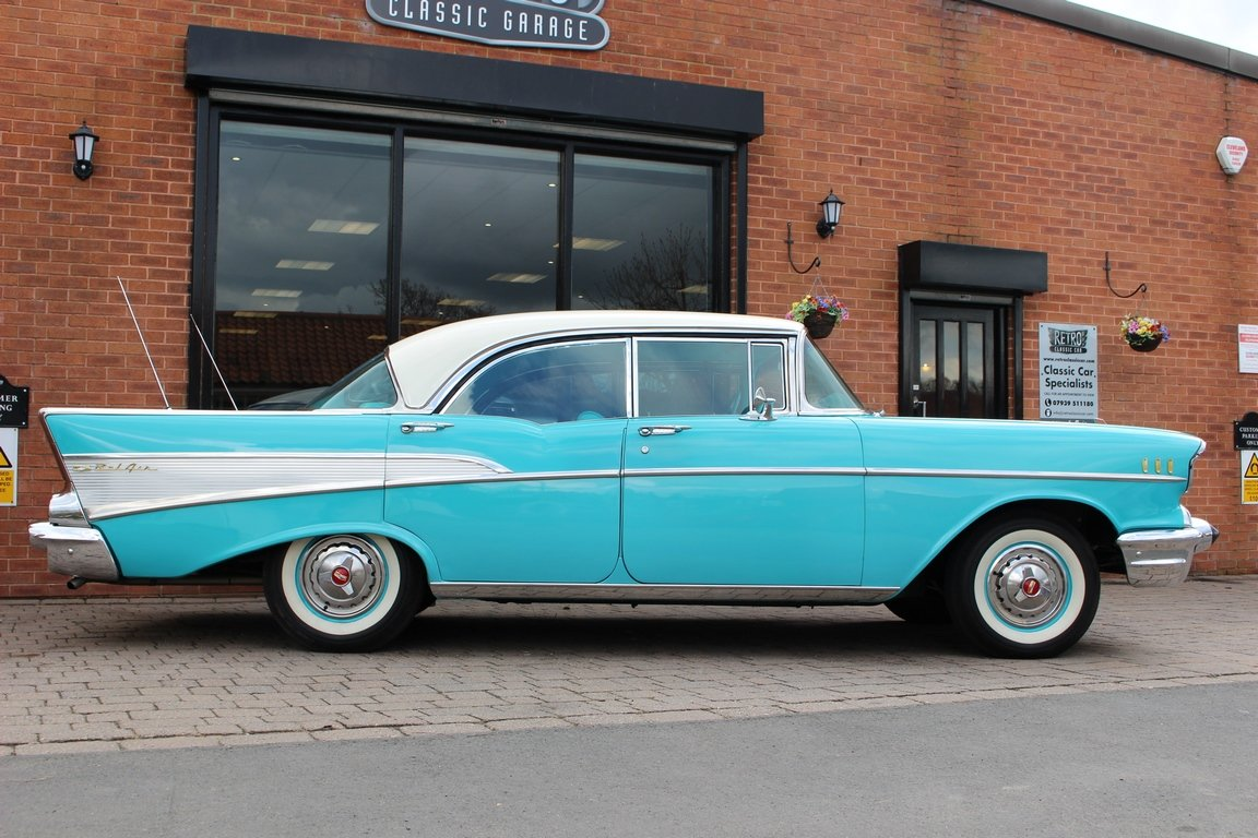 1957 Chevrolet Bel-Air 283 V8 - SOLD (picture 2 of 6)