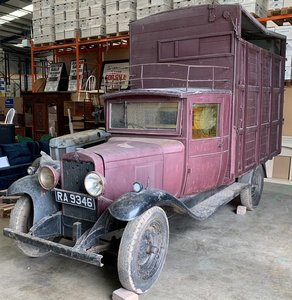 1929 Chevrolet cattle truck