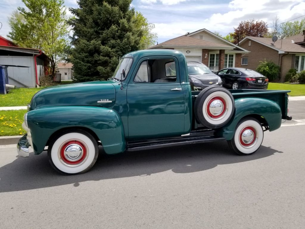 1954 Chevrolet 3100 Pick Up For Sale (picture 1 of 6)