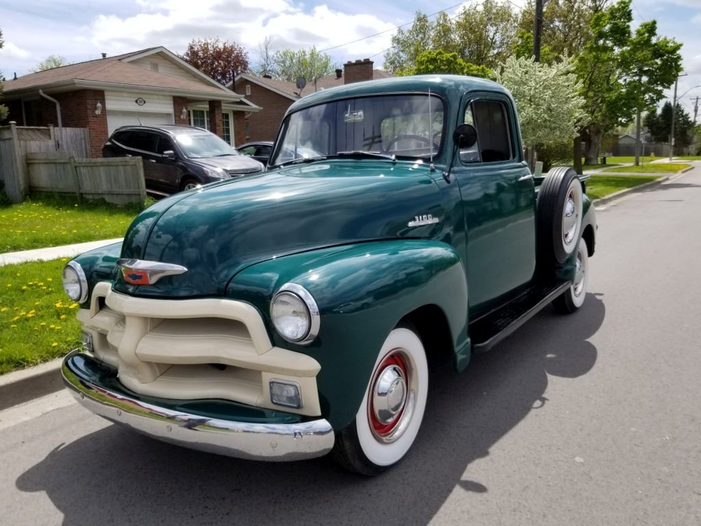 1954 Chevrolet 3100 Pick Up For Sale (picture 2 of 6)