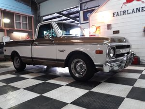 1970 Chevrolet C10 Pickup Truck Brilliant For Sale