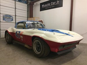 1963 Corvette FIA Coupe Corvette Split Window Vintage Racer For Sale