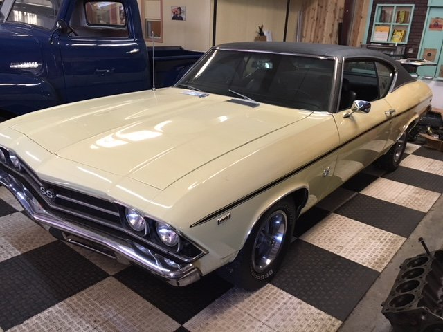 1969 Chevrolet Chevelle SS Shipping Included to EU For Sale (picture 1 of 6)