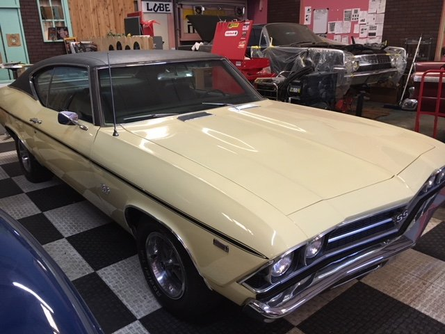 1969 Chevrolet Chevelle SS Shipping Included to EU For Sale (picture 2 of 6)