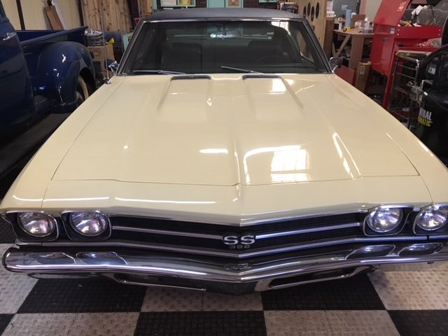 1969 Chevrolet Chevelle SS Shipping Included to EU For Sale (picture 3 of 6)