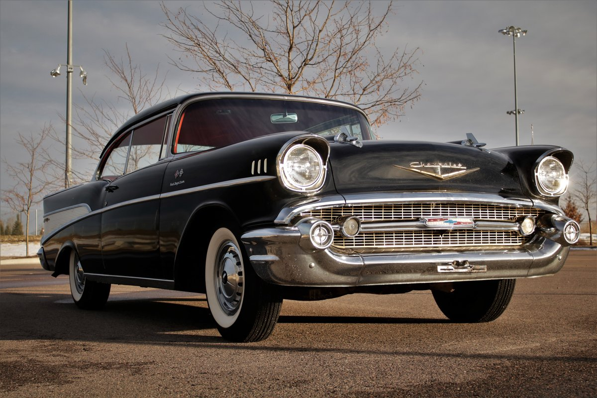 1957 Chevrolet Bel-Air Fuel Injected Low Mileage Original For Sale (picture 2 of 6)