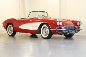 1961 Chevrolet Corvette C1 4.6 283 cui convertible For Sale