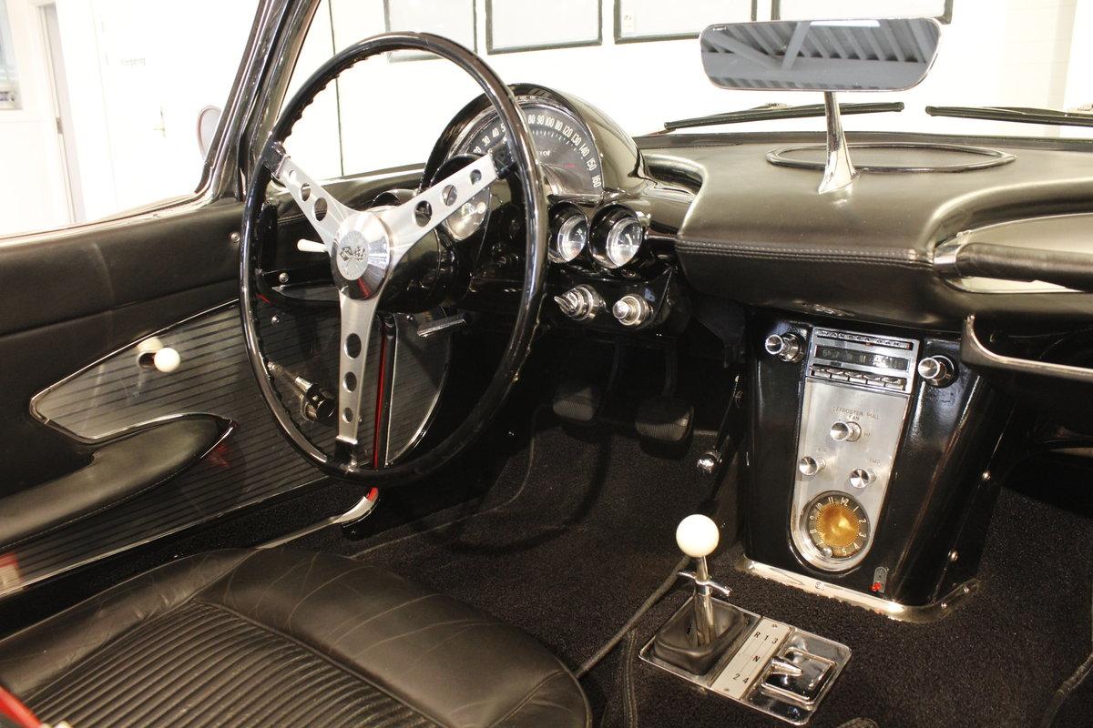 1961 Chevrolet Corvette C1 4.6 283 cui convertible For Sale (picture 5 of 6)
