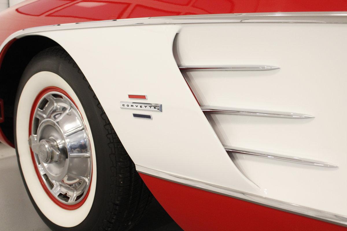 1961 Chevrolet Corvette C1 4.6 283 cui convertible For Sale (picture 6 of 6)