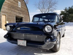 1957 Chevrolet Belair 2 Door Wagon RestoMod For Sale