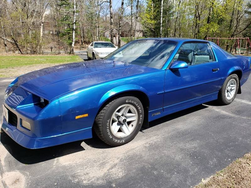 1989 Chevrolet Camaro RS 5 Speed 1 Owner  For Sale (picture 1 of 6)