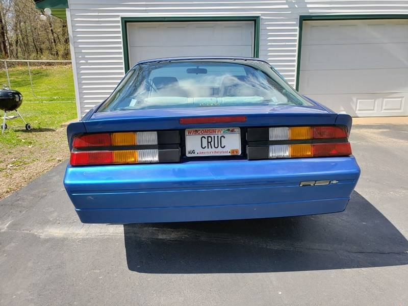 1989 Chevrolet Camaro RS 5 Speed 1 Owner  For Sale (picture 3 of 6)