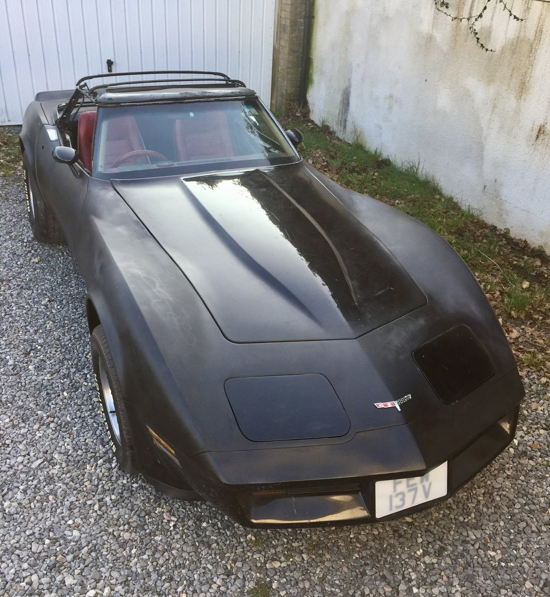 Right Hand Drive 1980 Corvette LS1 Convertible For Sale (picture 3 of 6)