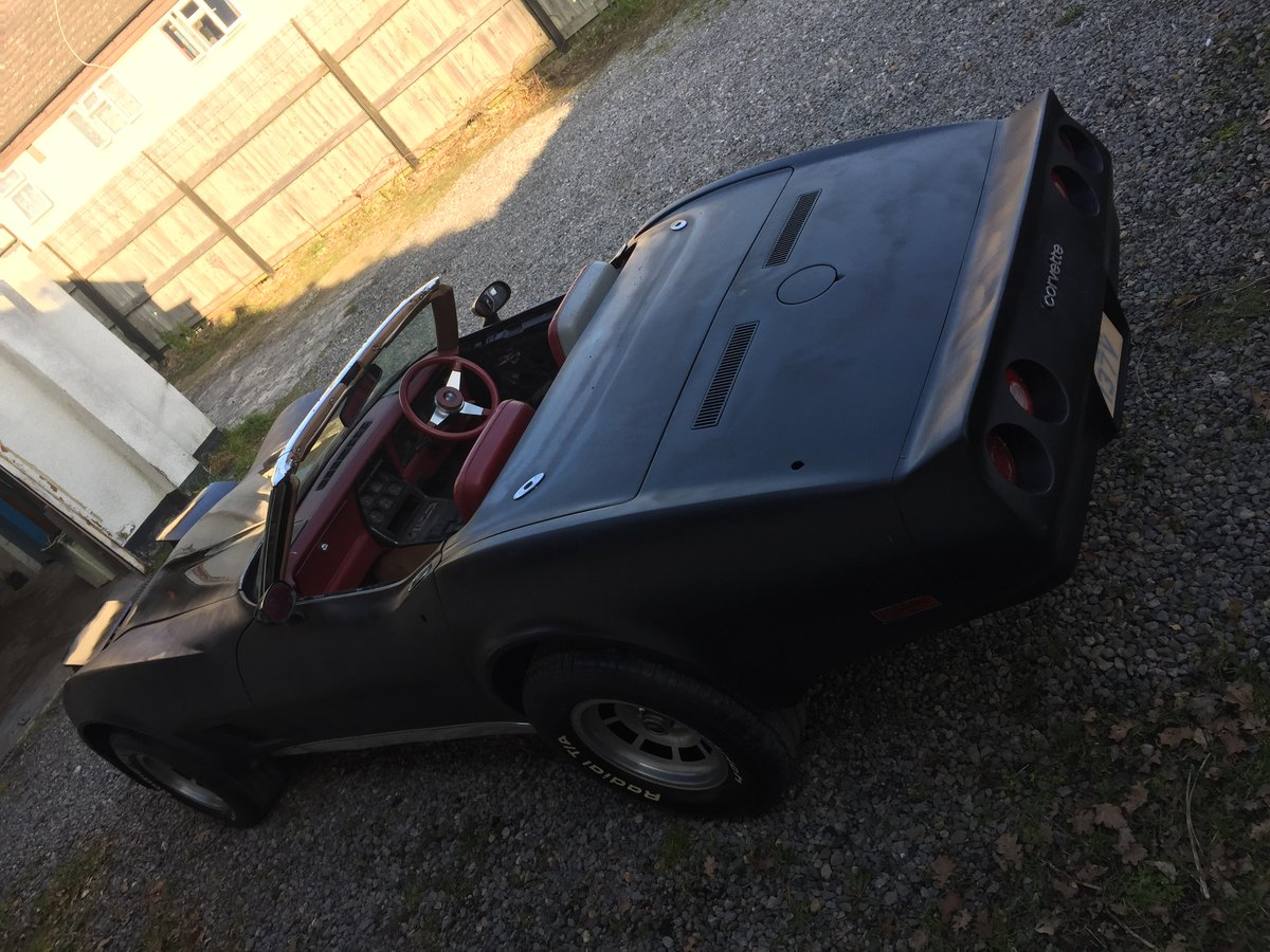 Right Hand Drive 1980 Corvette LS1 Convertible For Sale (picture 4 of 6)