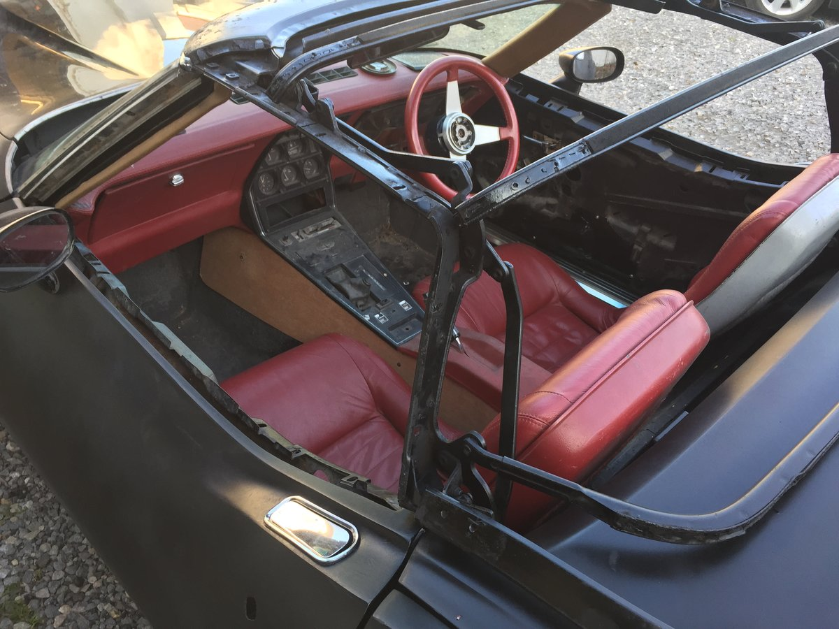 Right Hand Drive 1980 Corvette LS1 Convertible For Sale (picture 5 of 6)