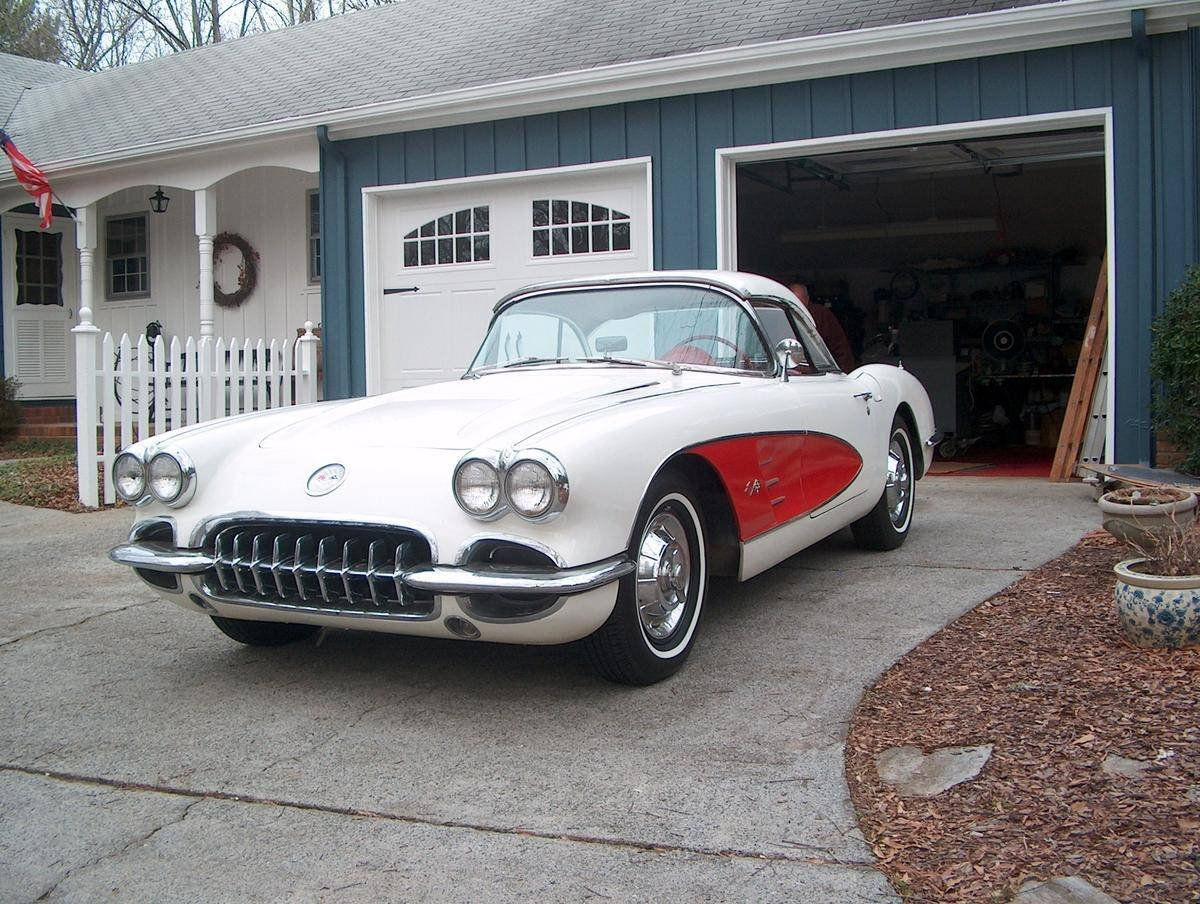 1958 Chevrolet Corvette Convertible For Sale (picture 1 of 6)