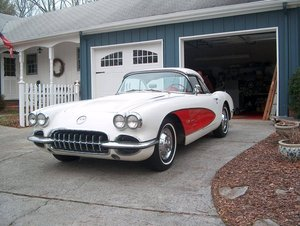1958 Chevrolet Corvette Convertible For Sale