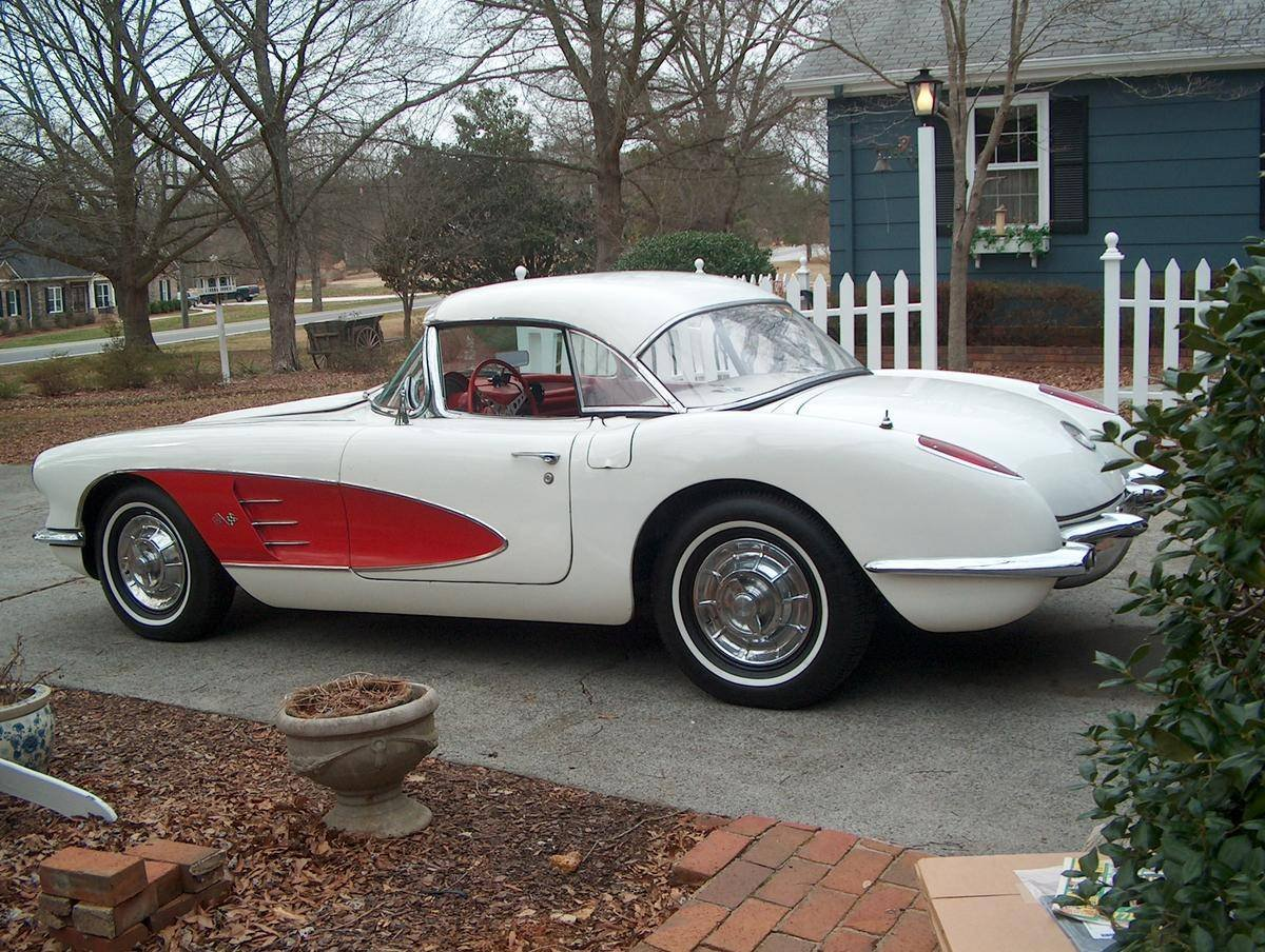 1958 Chevrolet Corvette Convertible For Sale (picture 2 of 6)