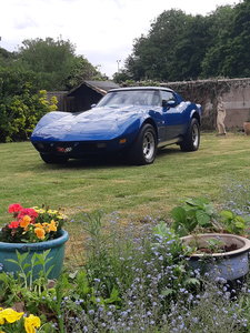 A stunning 1977 corvette SOLD