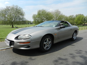 1999 Chevrolet Camaro 3.8L V6 Auto T Top Targa For Sale