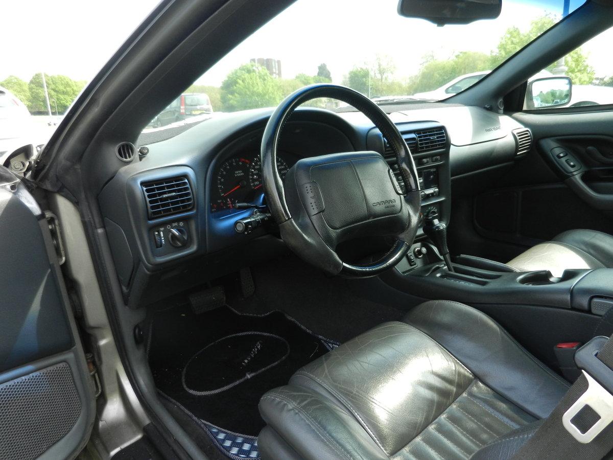 1999 Chevrolet Camaro 3.8L V6 Auto T Top Targa For Sale (picture 3 of 6)