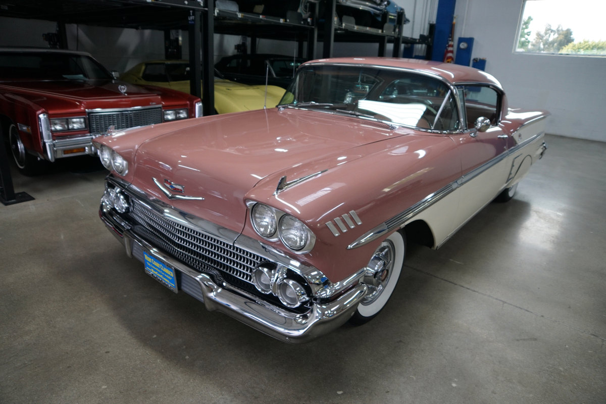 1958 Chevrolet Impala 2 Door Hardtop Sports coupe SOLD (picture 1 of 6)