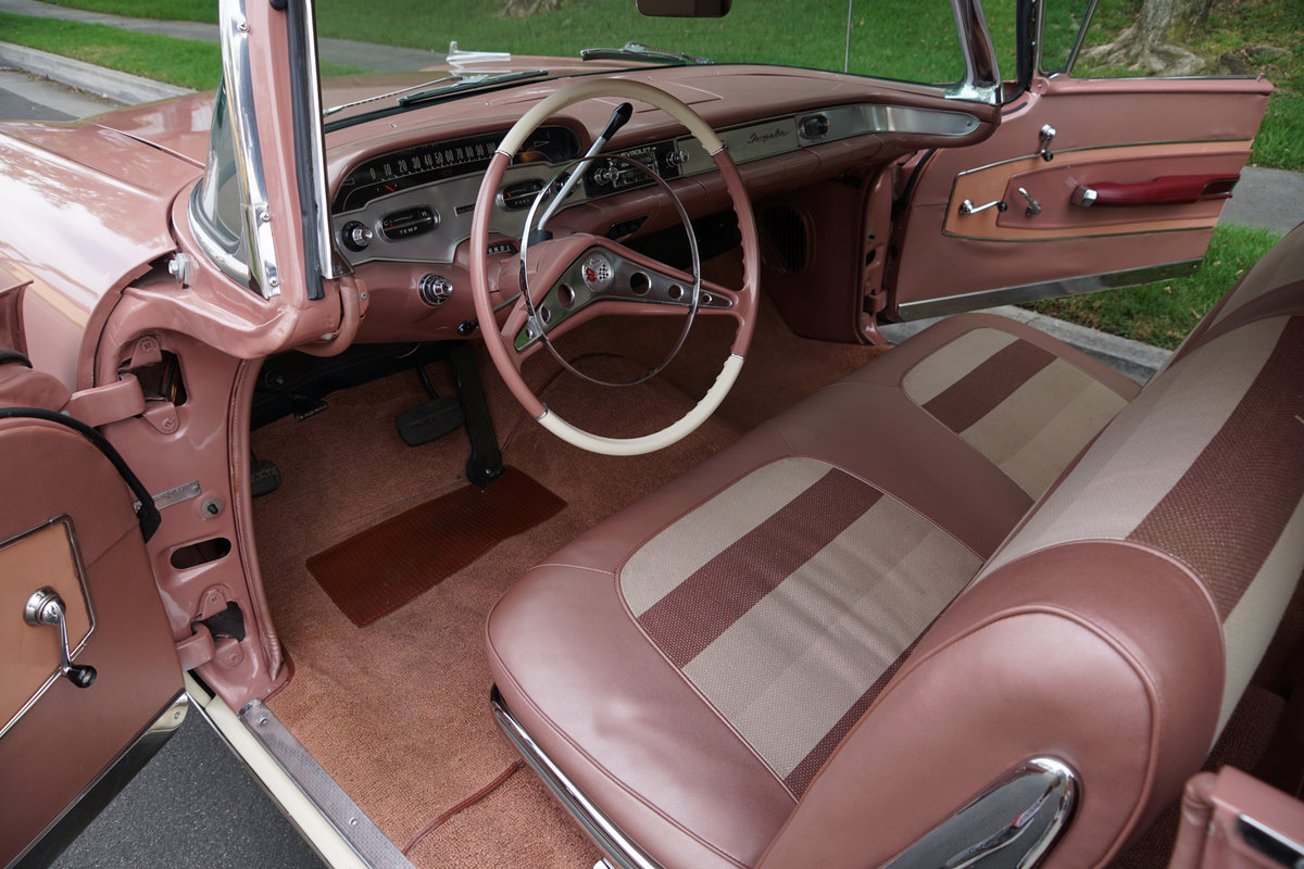 1958 Chevrolet Impala 2 Door Hardtop Sports coupe SOLD (picture 5 of 6)
