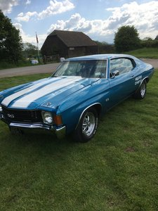 1971 Chevrolet Chevelle SS SHOWSTOPPER For Sale