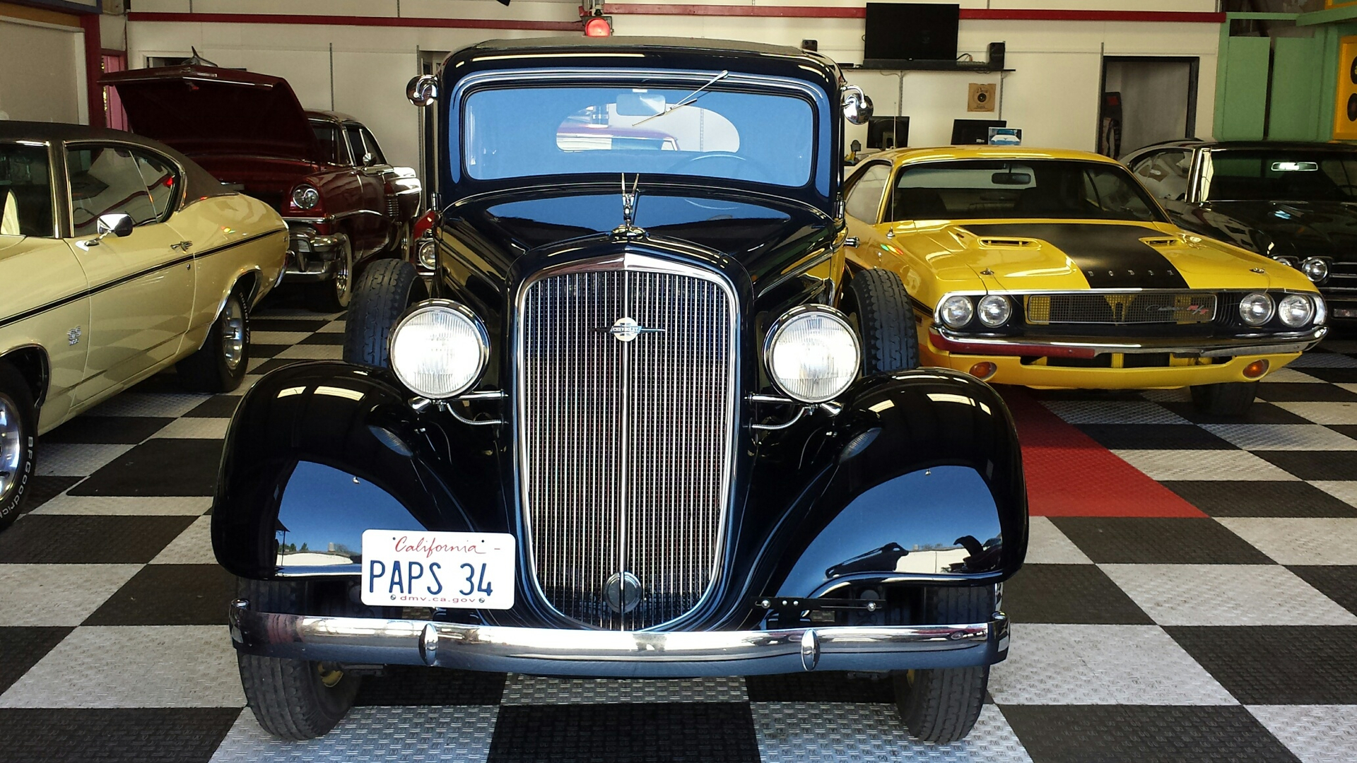 1934 Chevrolet Master DeluxeRestored Correct Winner $29.5k For Sale (picture 5 of 6)