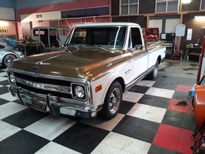 1970 Chevrolet C10 Pickup Truck - Restored + Upgrades $35k For Sale