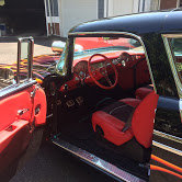 1956 chevy Nomad Wagon = Restored Black Flames Blower $97k For Sale (picture 5 of 6)