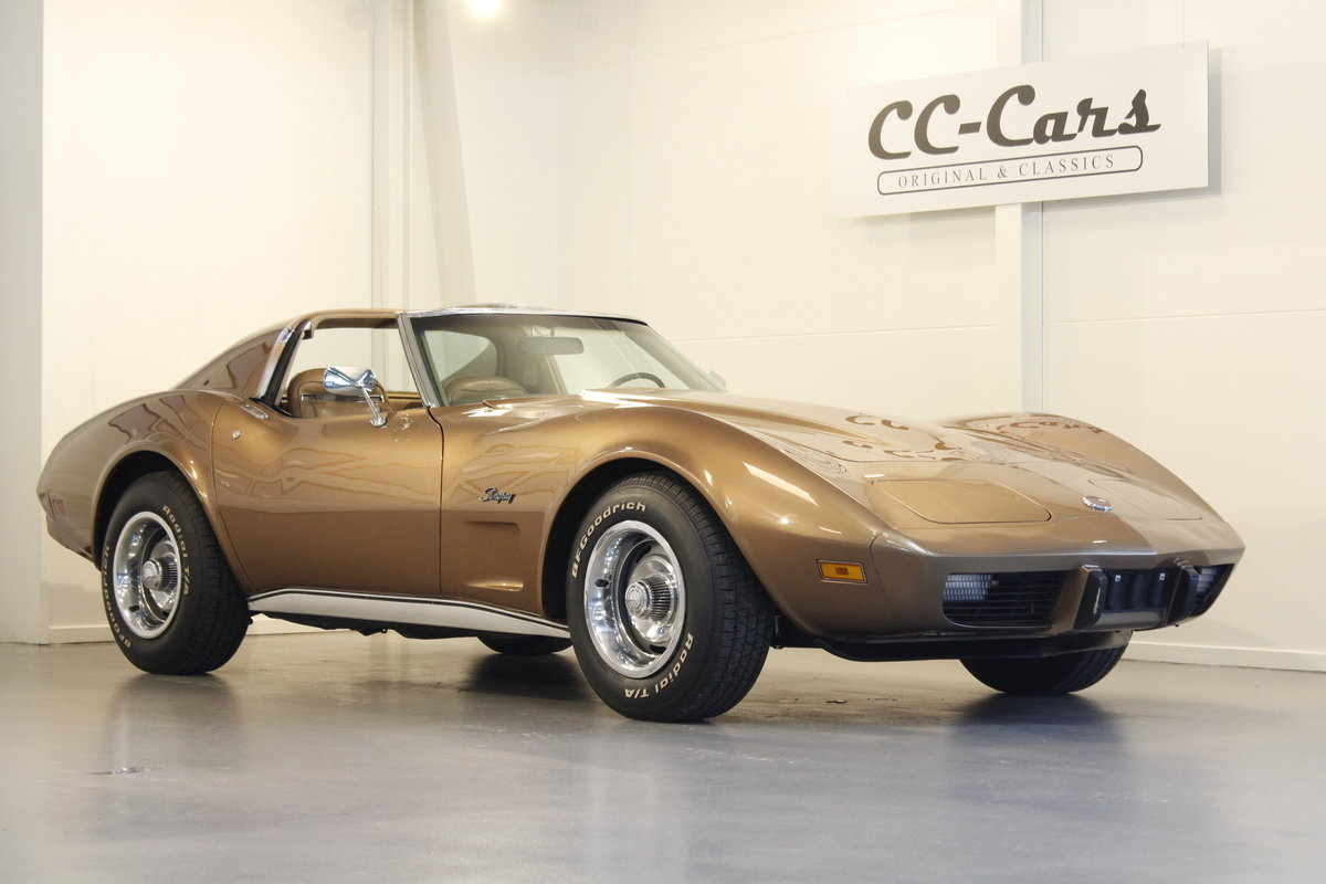 1975 Chevrolet Corvette 5,7 V8 Targa - 4 Speed For Sale (picture 1 of 6)