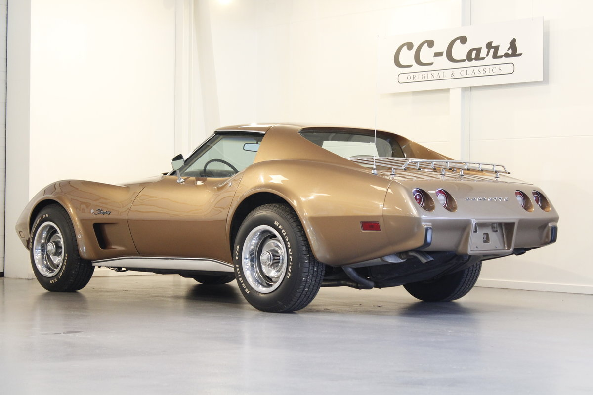 1975 Chevrolet Corvette 5,7 V8 Targa - 4 Speed For Sale (picture 2 of 6)