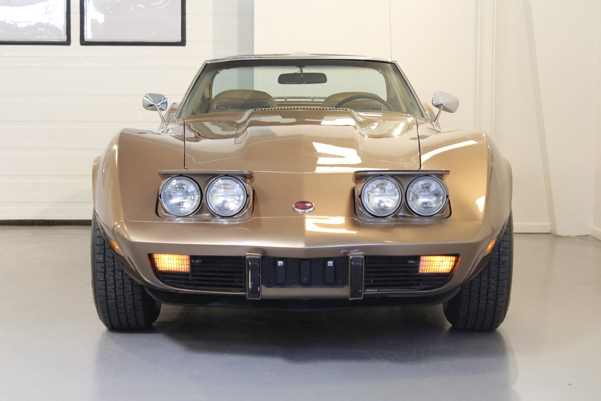 1975 Chevrolet Corvette 5,7 V8 Targa - 4 Speed For Sale (picture 3 of 6)