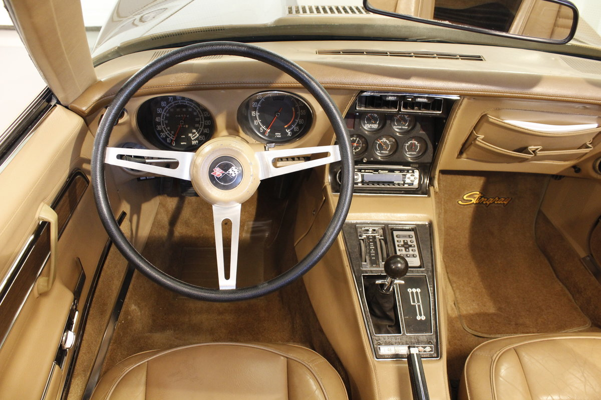 1975 Chevrolet Corvette 5,7 V8 Targa - 4 Speed For Sale (picture 5 of 6)