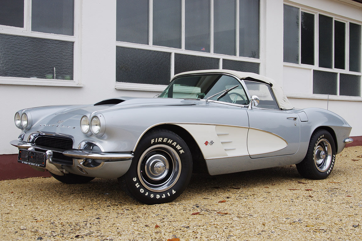 1961 Corvette C 1 - LHD - german documents - UK delivery possible SOLD (picture 1 of 6)