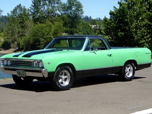 1967 Chevy El Camino = Fast 454 Auto Trans AC $22.5k For Sale
