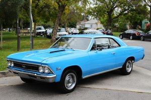 1966 CHEVROLET CHEVELLE SOLD