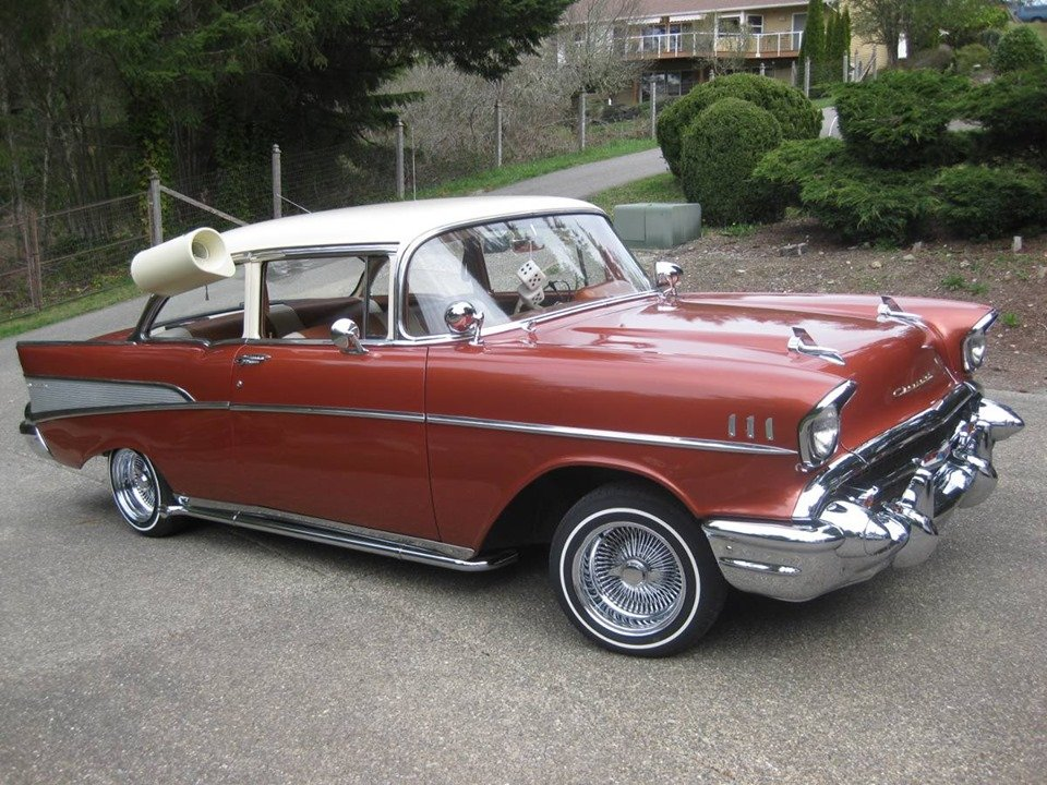 1957 Chevy Bel Air 2dr sedan (Bremerton, Wa) $34,900 obo For Sale (picture 1 of 6)