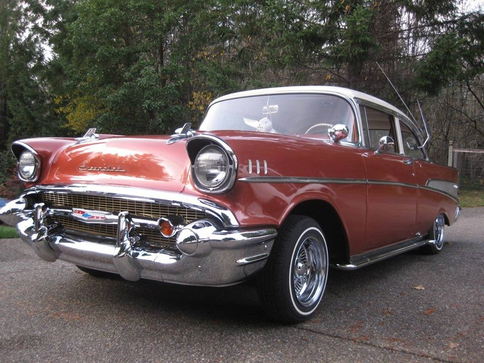1957 Chevy Bel Air 2dr sedan (Bremerton, Wa) $34,900 obo For Sale (picture 3 of 6)