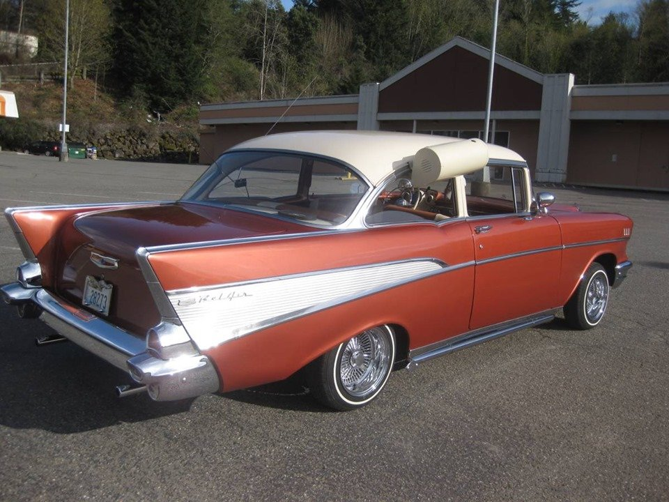 1957 Chevy Bel Air 2dr sedan (Bremerton, Wa) $34,900 obo For Sale (picture 4 of 6)