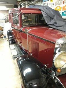 1929 RHD - Chevrolet sedan 4 doors 6 cylinder