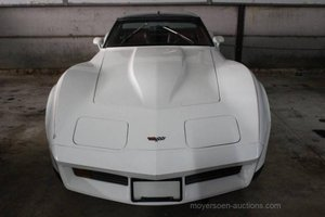1982 CHEVROLET Corvette C3 Cross-fire-injection V8