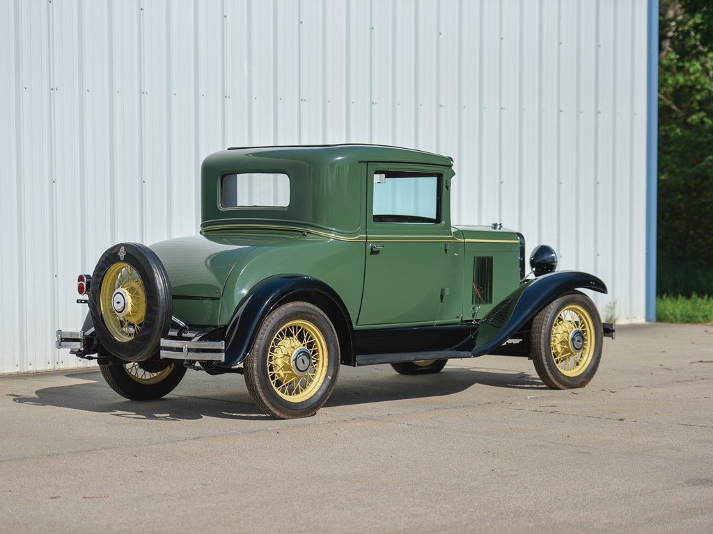 1930 Chevrolet Universal AD Two-Passenger Coupe For Sale by Auction (picture 2 of 6)