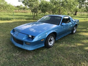 1990 CHEVROLET CAMARO 2DR COUPE RS Beautiful Light Blue For Sale