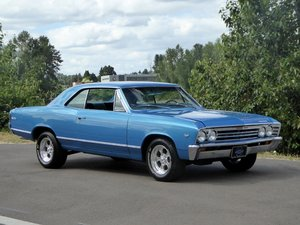 1972 chevy Malibu Chevelle = strong 383 auto Blue  $32.5k For Sale