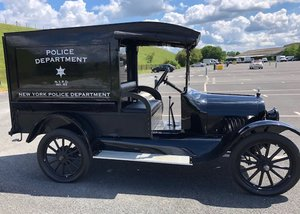 1922 Chevrolet Light 490 Police Truck SOLD by Auction
