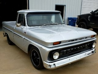 1965 Chevy C10 Pick-Up Truck  Custom 6.0 Vortec LQ4  $64.9k For Sale (picture 1 of 6)