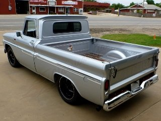 1965 Chevy C10 Pick-Up Truck  Custom 6.0 Vortec LQ4  $64.9k For Sale (picture 2 of 6)