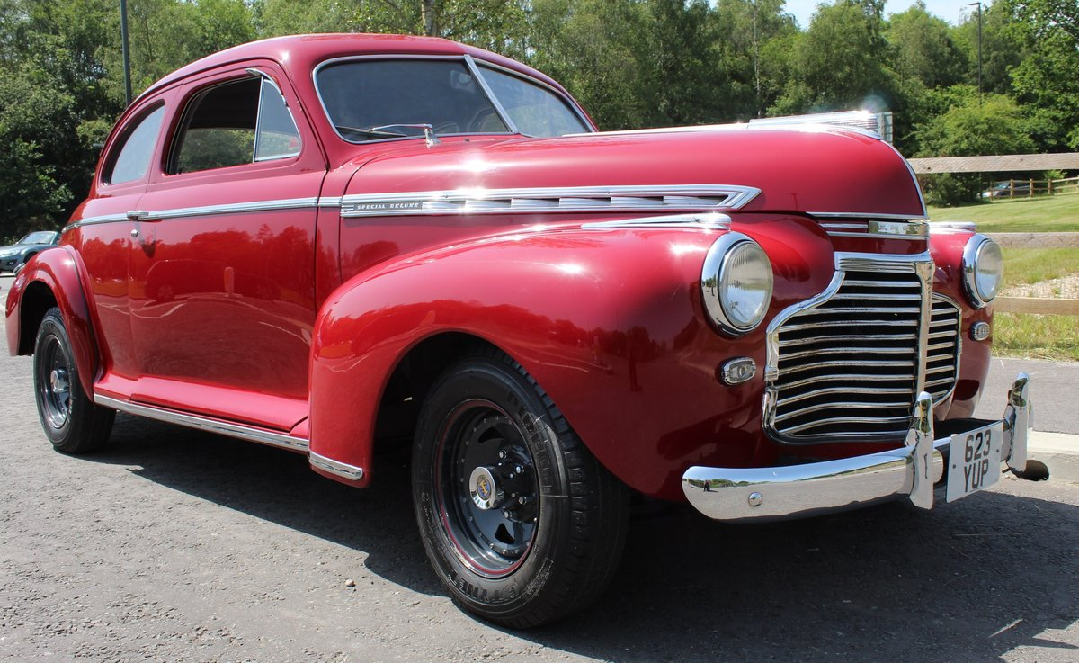 1941 Chevrolet Coupe Deluxe RHD excellent condition For Sale (picture 1 of 6)